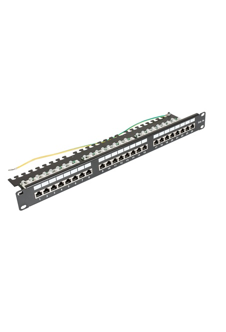 ccas-pa5e-24stp-0-2 securitynet patch panel STP 24 port screened 2