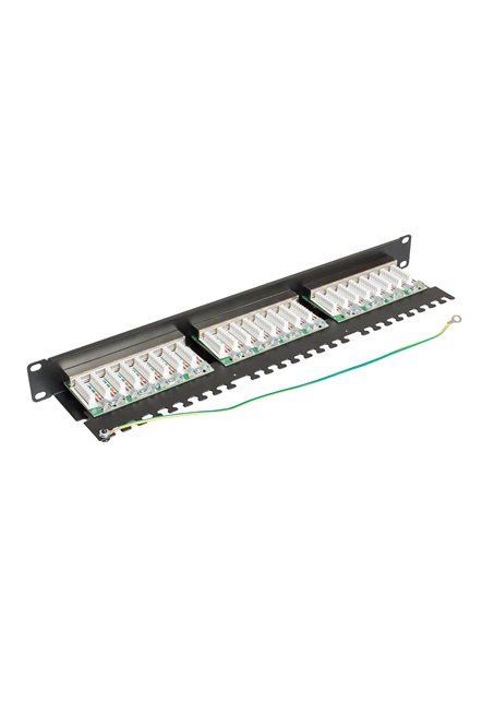 ccas-pa5e-24stp-0-2 securitynet patch panel STP 24 port screened