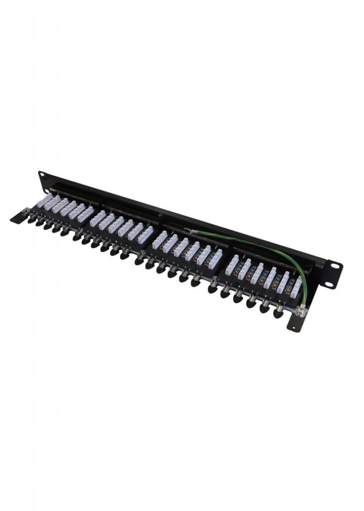100-032 patch panel Cat 6A screened 1