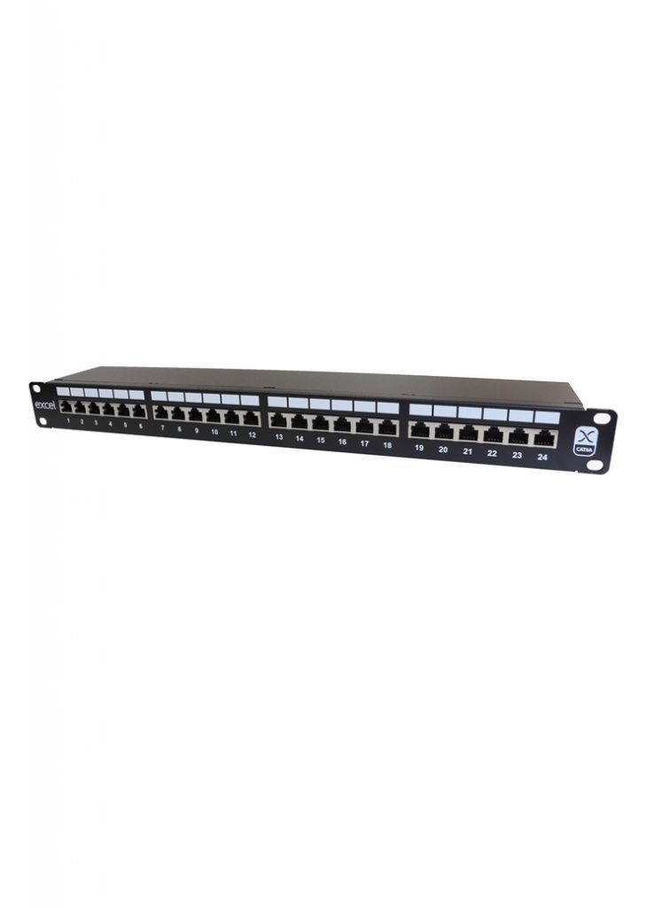100-032 patch panel Cat 6A screened 3