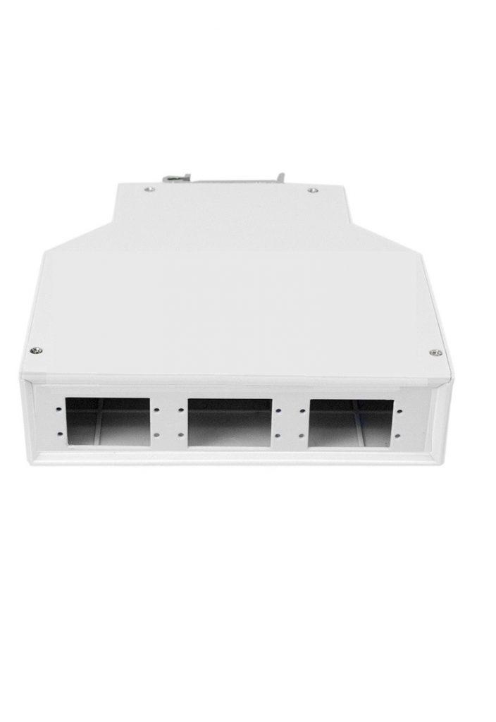 DIN mount fiber box SC duplex connector
