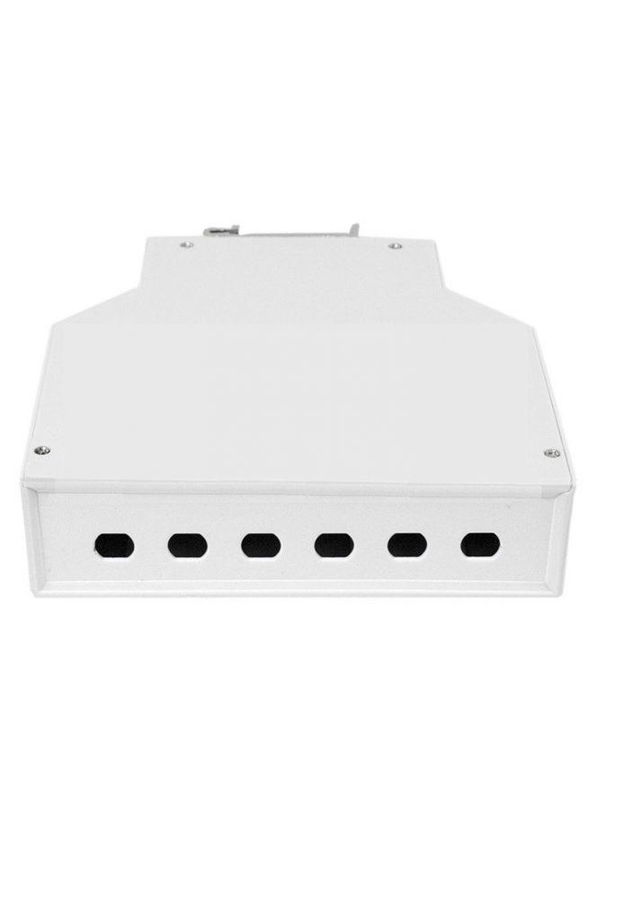 DIN mount fiber box ST connector